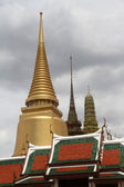 Stupas and temples — Stock Photo