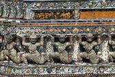 Estatuas en el prang — Foto de Stock