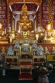Golden Buddhas — Stock Photo