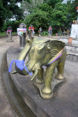 éléphant de bronze — Photo