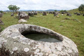 Plain of jars — Stock Photo