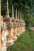 Wall of monastery — Stock Photo