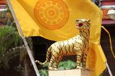 Tigre dourado — Fotografia Stock