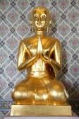 New golden Buddha — Stock Photo