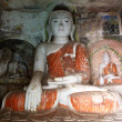 Buddhas in Hpo Win Daung Caves — Stock Photo