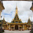Golden stupa - Foto Stock