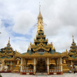 Stock Photo: golden stupa