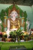 Budda i ściany — Zdjęcie stockowe