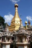 Golden stupa — Stock Photo