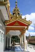Columns of temple — Stock Photo