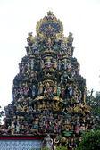 Gopuram of hindu temple — Stock Photo