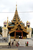 Gate of Shwe Dagon — Stock Photo