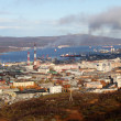 Autumn in Murmansk — Foto de Stock
