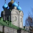 New russian church - Stock Photo