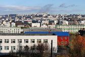 ムルマンスクにあるダウンタウン — ストック写真