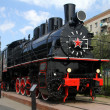 Russian locomotive — Stock Photo #7687392