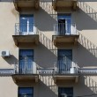 Balconies anmd windows - Stock Photo