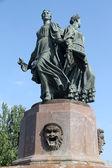 Estatuas de bronce — Foto de Stock