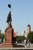 Bronze monument — Stock fotografie