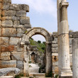 Stock Photo: Antique ruins in Ephesus