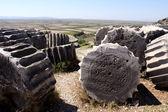Ruiny priene, turcja — Zdjęcie stockowe
