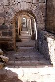 Tunnel in Pergamon — Stock Photo