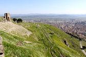 Amphitheater in Pergamon — Stock Photo