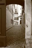 Calle vieja de Praga — Foto de Stock