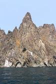 Vulkanische bergen — Stockfoto