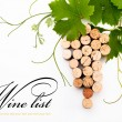Royalty-Free Stock Photo: Background to design a wine list