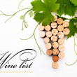 Background to design wine list — Stock Photo #6896571