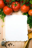 Art culinary background — Foto Stock