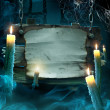 Design background for Halloween party - Stock Photo