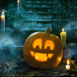 Halloween party design — Stock Photo