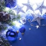 アート クリスマスのグリーティング カード — ストック写真