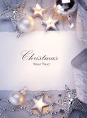 Art Christmas greeting card — Photo