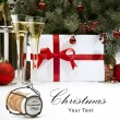 Christmas greeting cards — Stock Photo
