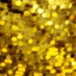 Abstract yellow defocused background — Stock Photo