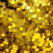 Abstract yellow defocused background - Stock Photo