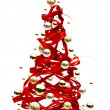 Christmas tree design - Stockfoto