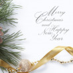 クリスマスのグリーティング カードをデザインします。 — ストック写真