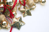 Staged picture for Christmas cards — Stock Photo