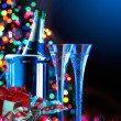 Royalty-Free Stock Photo: Art New Year party