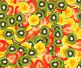 花木水果背景 — 图库照片