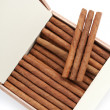 Cigars are in a box — Stock Photo