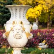 Vase in the park — Stockfoto