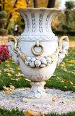 Vase in the park — Stock Photo