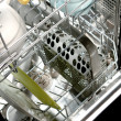 Stock Photo: Dishwasher
