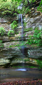 Hidden Canyon - Starved Rock State Park — Stock Photo