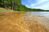 Sand Patterns in Wisconsin Lake — Stock Photo